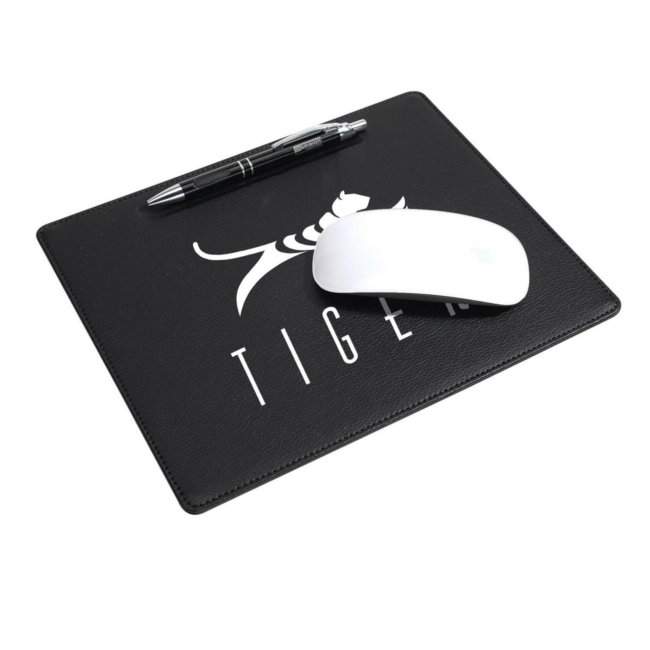 Image de 100 pcs. Tapis de souris personnalisé Tapis de souris Renfoncement pour stylo à bille Ultra mince