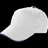 Casquette   Coton   Réglable   Livraison rapide   8039114 Blanc