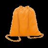 Sac à dos en coton | Coloré | 100 gr/m2 | 8798484 orange