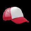 Casquette Trucker   Quadrichromie   111001 rouge