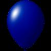 Ballon coloré | 33 cm | Petite quantité | 9485951s bleu foncé