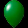 Ballon coloré | 33 cm | Petite quantité | 9485951s vert foncé