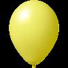 Ballon coloré | 33 cm | Petite quantité | 9485951s jaune clair
