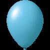 Ballon coloré | 33 cm | Petite quantité | 9485951s bleu clair
