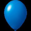 Ballon coloré | 33 cm | Petite quantité | 9485951s moyen bleu