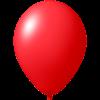 Ballon coloré | 33 cm | Petite quantité | 9485951s rouge