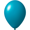 Ballon coloré | 33 cm | Petite quantité | 9485951s turquoise