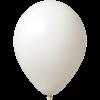 Ballon coloré | 33 cm | Petite quantité | 9485951s blanc