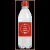 Bouteille d'eau | 500 ml | Eau gazeuze | 435000pd rouge