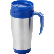 Mug isotherme   Inox   400 ml   92100296 Bleu