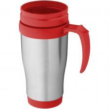 Mug isotherme   Inox   400 ml   92100296 Rouge