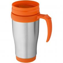 Mug isotherme   Inox   400 ml   92100296 Orange