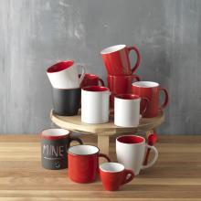 Mug en céramique   Avec cuillère   250ml   92100525