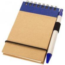 Bloc-notes   Recyclé   Avec stylo   92106269 Bleu