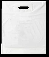 Sac plastique | Blanc | Format S | 50 microns | 108PS06 Blanc