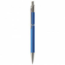 Stylo en métal 'Tiko' | Encre bleue | Gravure | max039 Bleu