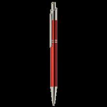 Stylo en métal 'Tiko' | Encre bleue | Gravure | max039 Rouge