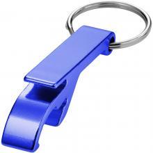 Porte-clés décapsuleur | Aluminium | Pas cher | max171 Bleu