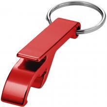 Porte-clés décapsuleur | Aluminium | Pas cher | max171 Rouge