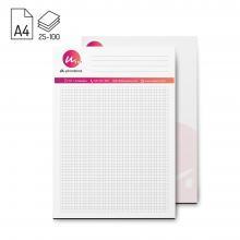 Bloc-notes | Format A4 | 25, 50 ou 100 feuilles