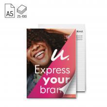 Bloc-notes | Format A5 | 25 - 100 pages | Avec couverture