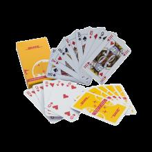 Jeu de cartes | Avec boîte en carton | Quadrichromie  | 127playingcard Blanc