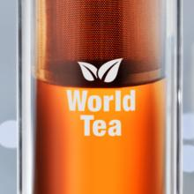 Gourde | Compartiment à thé | 420 ml | 8759420