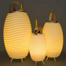 Kooduu | Moyen | Lampe LED, haut-parleur sans fil et glacière