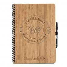 Carnet Bambook   Format A4   Couverture rigide   100% durable   Gravure