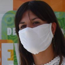 Masque réutilisable | 2 couches | Fabriqué en Europe | max151