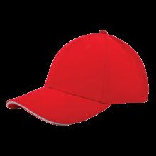 Casquette | Haute qualité | Brodée | 201926B Rouge / blanc