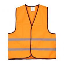 Gilet de sécurité | Pour les enfants de 6 à 12 ans | Polyester | 204715 Orange