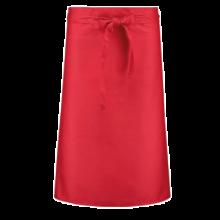 Tablier de bistrot long   Coloré   205210vk Rouge
