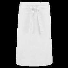 Tablier de bistrot long   Coloré   205210vk Blanc