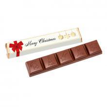 Barre de chocolat | 3 goûts | Manchon quadrichromie