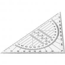 Équerre géométrique | Plastique | Personnalisable