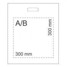 Sac plastique | A3 | 50 microns | DPLTS04 Blanc