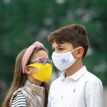 Masque personnalisé | Enfants | Réutilisable | 152578