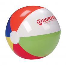 Ballon de plage de couleur, 24 cm | Personnalisé | Logo & texte