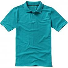 Polo luxe | Homme | 9238080 Aqua bleu