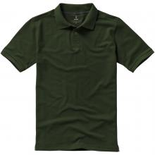 Polo luxe | Homme | 9238080 Vert militaire