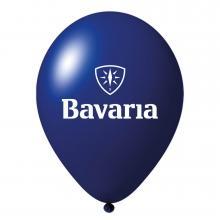 Ballon promotionnel   35 cm   Petit prix   94901001 Bleu foncé