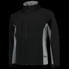 Soft Shell Jacket   Tricorp Workwear   Unisexe   97TJ2000 Noir / Gris