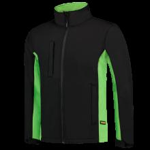 Soft Shell Jacket   Tricorp Workwear   Unisexe   97TJ2000 Noir / citron