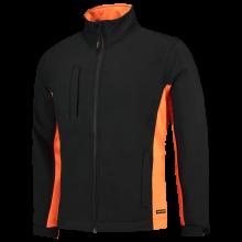 Soft Shell Jacket   Tricorp Workwear   Unisexe   97TJ2000 Noir/Orange