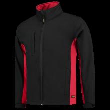 Soft Shell Jacket   Tricorp Workwear   Unisexe   97TJ2000 Noir / Rouge