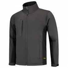 Soft Shell Jacket   Tricorp Workwear   Unisexe   97TJ2000 Gris foncé/Noir