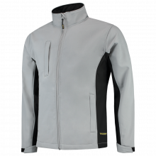 Soft Shell Jacket   Tricorp Workwear   Unisexe   97TJ2000 Gris / noir