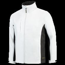 Soft Shell Jacket   Tricorp Workwear   Unisexe   97TJ2000 Blanc / Gris foncé
