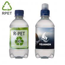 Bouteille d'eau | Pas cher | 330 ml | 100% plastique recyclé